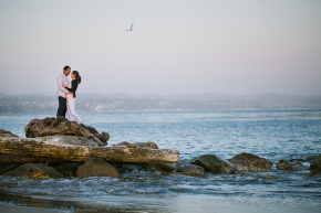 Capitola Beach engagement