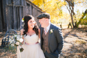 brittany sean milfiori house wedding fall autumn leaves yellow orange trees barn rustic al fresco vintage wedding ruffled blog feature still music wedding photography murphys arnold wedding venues